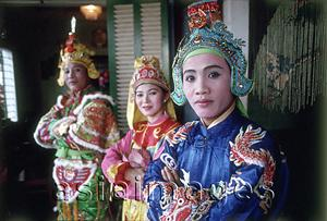 Asia Images Group - Vietnam, Hue, dance troupe.