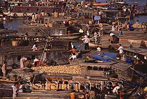 Asia Images Group - Vietnam, Can Tho, Hau river, Floating market.