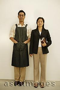 Asia Images Group - Couple standing side by side